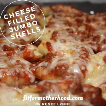 Cheese Filled Jumbo Shells
