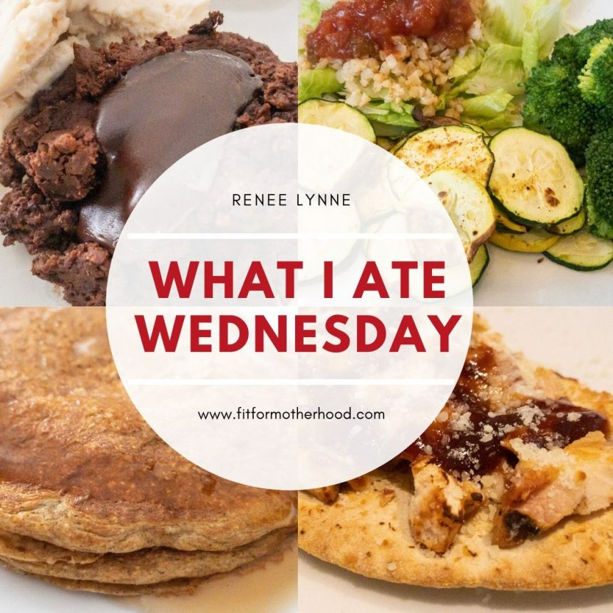 What I Ate Wednesday #1